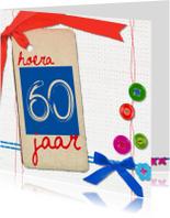 Verjaardagskaarten - 60 zestig jaar verjaardag -BF