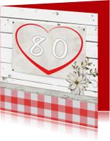 Verjaardagskaarten - 80-made4you