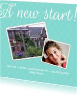 Verhuiskaarten - A new start! - BK