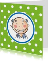 Verjaardagskaarten - Abraham of Opa kaart