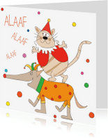 Carnavalskaarten - Alaaf alaaf alaaf