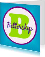 Fryske kaartsjes - Alfabetkaartsje Betterskip