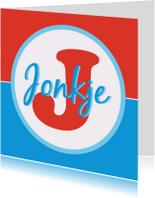 Fryske kaartsjes - Alfabetkaartsje Jonkje