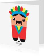 Kinderkaarten - ALIES DESIGN MUSTAKKIO 8