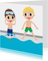 Alies Design zwemfeest