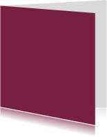 Blanco kaarten - Anemone vierkant dubbel