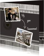 Verhuiskaarten - Antraciet Samenwonen - BK