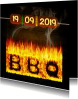 Uitnodigingen - BBQ feest zelf invullen 2