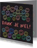 Bedankkaartjes - Bedankkaartje blij met jou IW