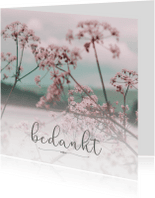 Rouwkaarten - Bedanktkaart na overlijden (afbeelding naar keuze)