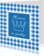 Fryske kaartsjes - Bertekaartsje Hoera in jonkje