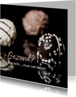 Beterschapskaarten - beterschap bonbons