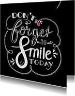 Beterschapskaarten - Beterschap - smile black EM