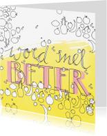 Beterschapskaarten - Beterschap Word snel beter - EE