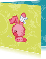 Beterschapskaarten - Beterschapskaart konijntje - A