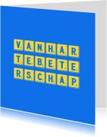 Beterschapskaarten - beterschapskaart vanhar - LB