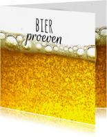 Uitnodigingen - Bier proeven-isf