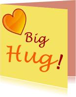 Liefde kaarten - Big hug 1
