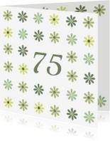 Verjaardagskaarten - bloemen leeftijd3