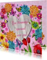 Bloemenkaarten - Bloemen voor jou Tulpen
