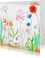 Bloemenkaarten - Bloemenkaart voor elk feest