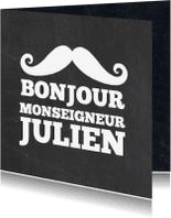 Geboortekaartjes - Bonjour Monseigneur - Geboorte