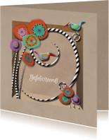 Verjaardagskaarten - BrownPaperBox ColorFest