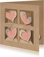 Liefde kaarten - BrownPaperBox_Love Flow