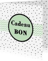 Kaarten mailing - Cadeaubon Mint - WW