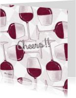 Felicitatiekaarten - Cheers!! 01