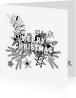 Kerstkaarten - Christmas doodles 1