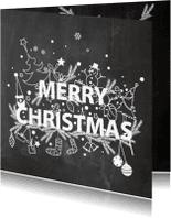Kerstkaarten - Christmas doodles