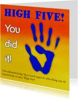 Coachingskaarten - Coaching, high five - AZ