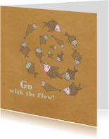 Coachingskaarten - Coachingkaart Go with the flow