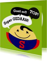 Coachingskaarten - Coachingskaart smiley superman