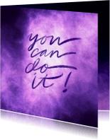 Coachingskaarten - Coachingskaart you can do it galaxy