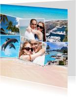 Vakantiekaarten - Collage Heerlijk! 6 Foto's - BK