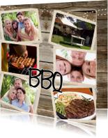 Uitnodigingen - Collage Uitnodiging BBQ - BK