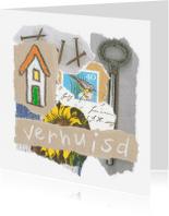Verhuiskaarten - Collage verhuisd