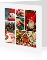 Collagekaart kerst - DH