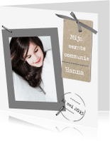 Communiekaarten - Communiekaart Hanna