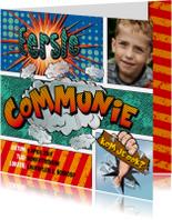 Communiekaarten -  Communiekaart strip cartoon