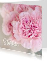 Condoleancekaarten - Condoleance kaart bloem - DH