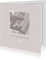 Condoleancekaarten - Condoleance laat me gaan