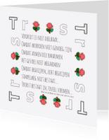 Condoleancekaarten - Condoleance TRoost - AW