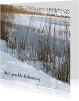 Condoleancekaarten - Condoleance, winter - AZ