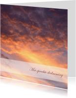 Condoleancekaarten - Condoleance wolken