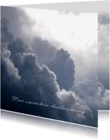 Condoleancekaarten - Condoleance-WonderenWolken-MW