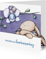 Condoleancekaarten - Condoleancekaart Orchidee - IH
