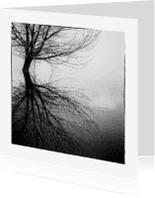 Condoleancekaarten - Condoleancekaart Spiegeling - OT